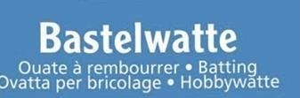 Füllmaterialien, Bastelwatte