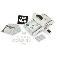 Sizzix Big Shot Starter Kit White & Grey ft. MLH (DIN A 5)