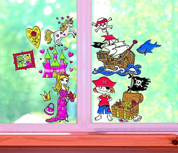 Marabu Window Color fun & fancy, Set Princess World