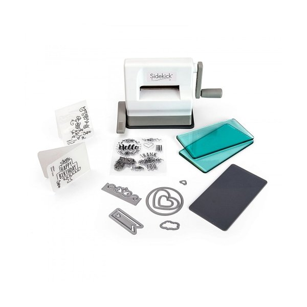 Sizzix ? Sidekick starter kit white & gray
