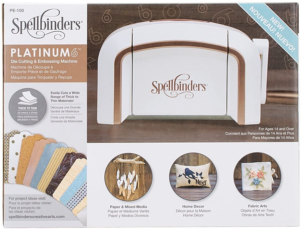 Spellbinders Platinum 6 (A5 Stanzmaschine)