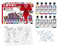 Marabu Window Color fun & fancy, Geschenk-Set FOR YOU