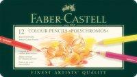 Farbstift Polychromos 12er Metalletui Faber-Castell