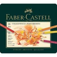 Farbstift Polychromos 24er Metalletui Faber-Castell