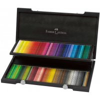 Faber-Castell Künstlerfarbstifte - Holzkoffer mit...