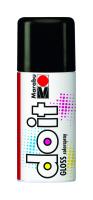 Marabu-Sprühfarbe do it Gloss Glanz-Schwarz 150ml