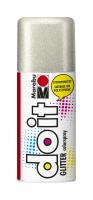 Marabu-Sprühfarbe do it Glitter-Silber 150ml