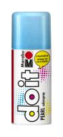 Marabu-Sprühfarbe do it Pearl Perlmutt-Blau 150ml