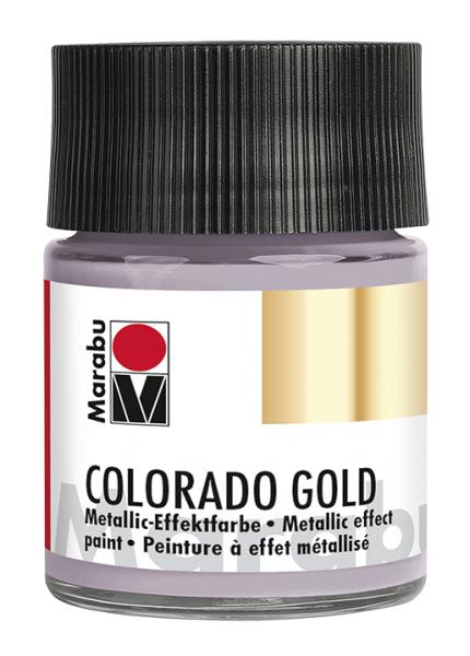 Colorado Gold, Marabu, Metallic Zink 50ml