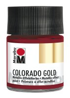 Colorado Gold, Marabu, Metallic Rot 50ml