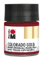 Colorado Gold, Marabu, Metallic Rot 50ml