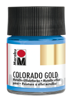 Colorado Gold, Marabu, Metallic Hellblau 50ml