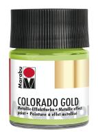 Colorado Gold, Marabu, Metallic Hellgrün 50ml