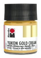 Yukon-Gold Metallic-Effect-Creme, Marabu, Metallic-Gold,...