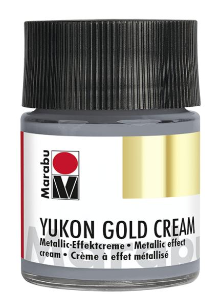 Yukon-Gold Metallic-Effect-Creme, Marabu, Palladium, 50ml