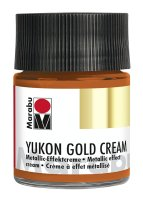 Yukon-Gold Metallic-Effect-Creme, Marabu, Metallic...