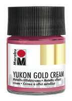 Yukon-Gold Metallic-Effect-Creme, Marabu, Metallic...