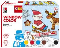 Marabu KIDS Window Color Aktionsset CHRISTMAS