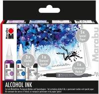 Marabu Alcohol Ink Set Underwater