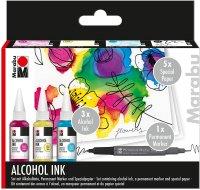 Marabu Alcohol Ink Set Flower