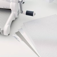 """Sizzix • Cardstock pack 8x11,5"""" silver"""