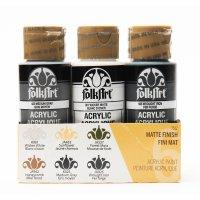 FolkArt ® Acrylfarben Farbset 6 Farbe - Farmhouse