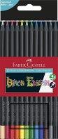 Faber Castell Buntstift Black Edition, sortiert, 12er Etui