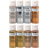 Martha Stewart • Multi-Surface Metallic Acrylic...