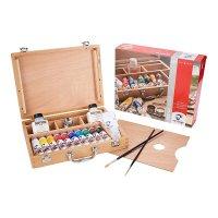 Van Gogh Acrylfarbe Holzkasten Acrylfarben Basic mit 10...