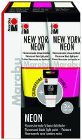 Marabu NEW YORK NEON & ACRYL COLOR Set 3x100ml