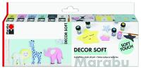 Marabu DECOR SOFT Starterset 6x15ml