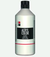 Marabu Acryl Color Weiss 070, 500 ml