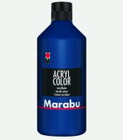 Marabu Acryl Color Dunkelblau 053, 500 ml