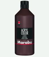 Marabu Acryl Color Mittelbraun 040, 500 ml