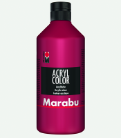 Marabu Acryl Color Karminrot 032, 500 ml