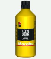 Marabu Acryl Color Gelb 019, 500 ml