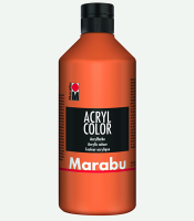 Marabu Acryl Color Orange 013, 500 ml