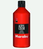 Marabu Acryl Color Zinnoberrot 006, 500 ml
