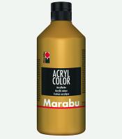 Marabu Acryl Color Gold 084, 500 ml