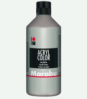 Marabu Acryl Color Silber 082, 500 ml