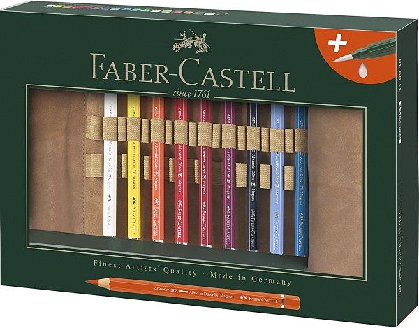 Faber-Castell Aquarellstift ALBRECHT DÜRER Magnus, sortiert, 18er Stifterolle
