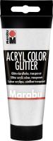 Marabu Acryl Color, Glitter-Silber 582, 100 ml