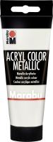 Marabu Acryl Color, Metallic-Weiß 770, 100 ml