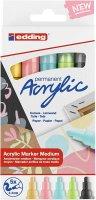 Edding Acrylmarker medium pastel 5er-Set