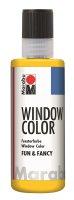 Marabu Window Color fun & fancy, Gelb 019, 80 ml