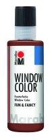 Marabu Window Color fun & fancy, Mittelbraun 046, 80 ml