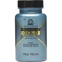 FolkArt • Treasure gold 118ml Blue quartz