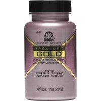FolkArt • Treasure gold 118ml Purple topaz