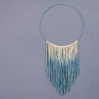 Metallring Ø25cm 3mm Blau