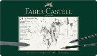 Faber Castell Pitt Charcoal Set, 24er Metalletui